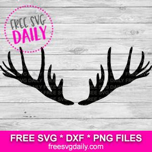 Antler SVG Free
