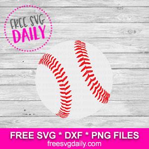 Baseball SVG Free