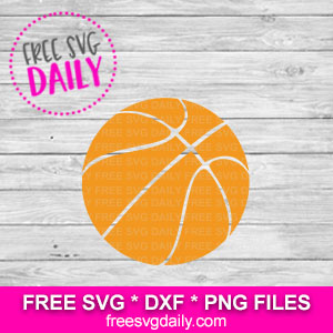 Basketball SVG Free