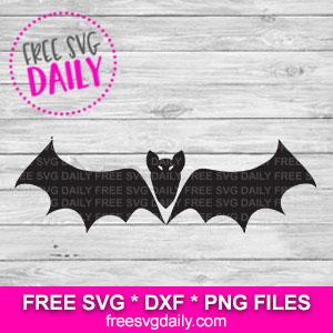 Bat SVG Free
