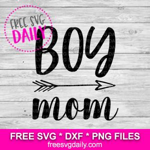 Boy Mom Free SVG