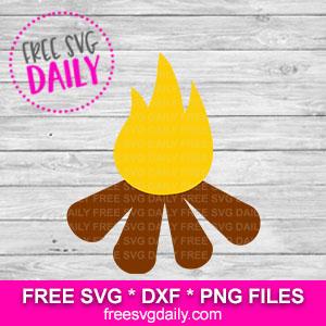 Campfire Free SVG