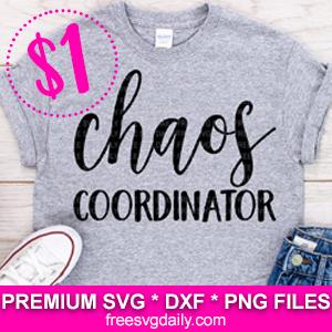 Free Chaos Coordinator SVG