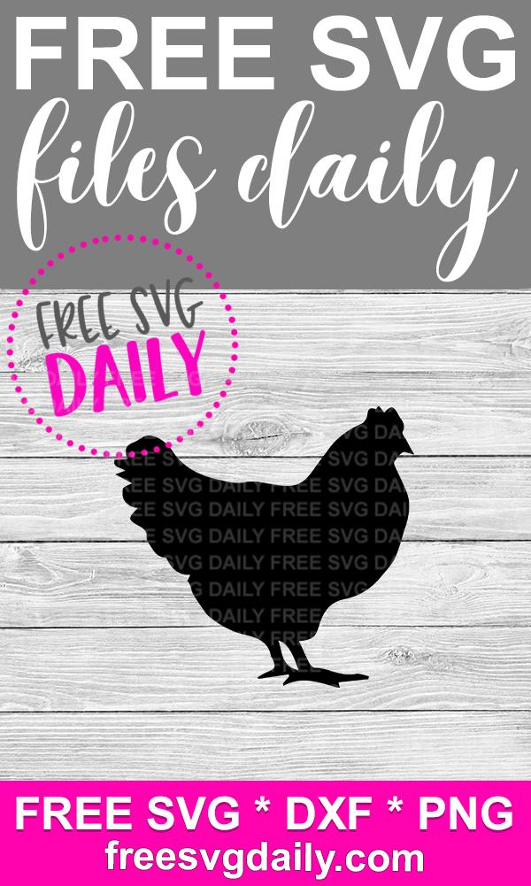 Chicken SVG Free