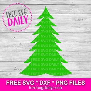 Christmas Tree Free SVG