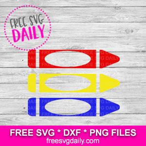 Free Crayon SVG