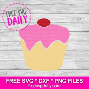 Cupcake Free SVG file