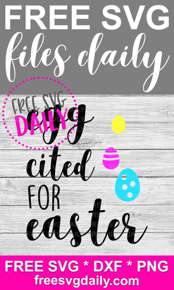 Exciting Easter SVG