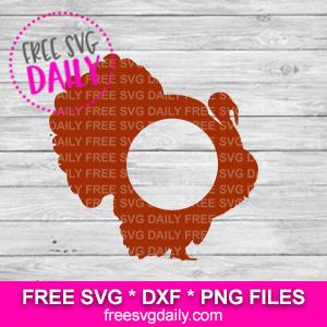 Turkey Monogram SVG FREE