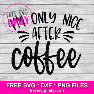 Funny Coffee SVG