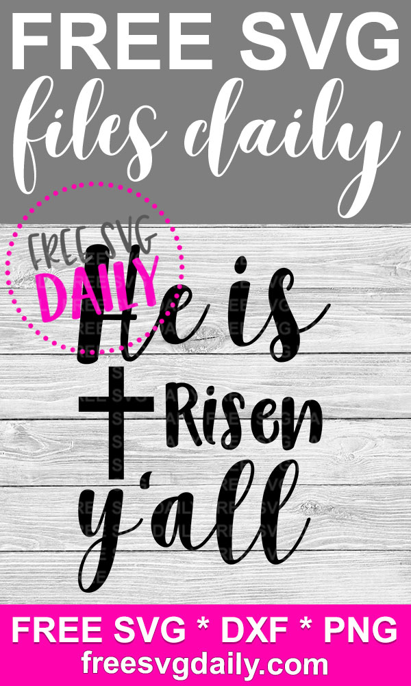 Jesus Easter SVG