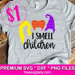 I Smell Children SVG