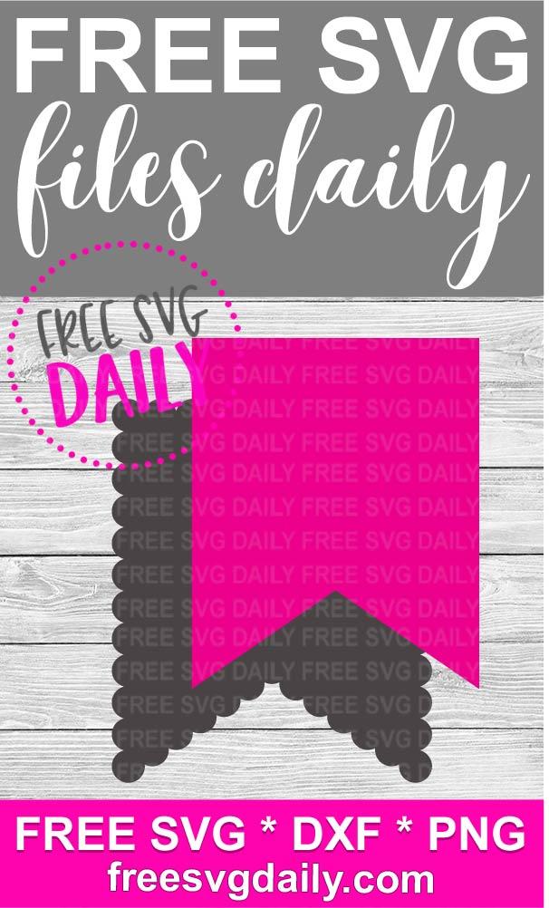Pennant Banner Free SVG