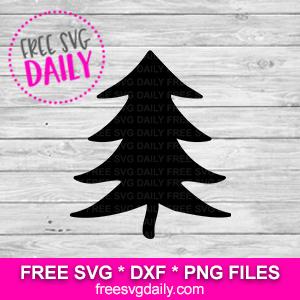 Pine Tree SVG Free Cricut