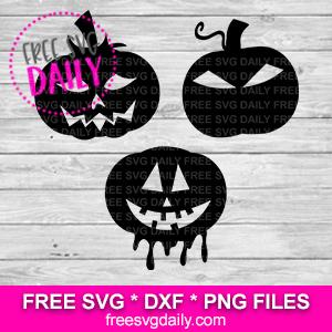 Free Pumpkin Face SVG