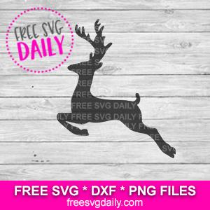 Reindeer SVG Free