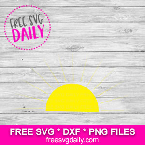 Sun Free SVG