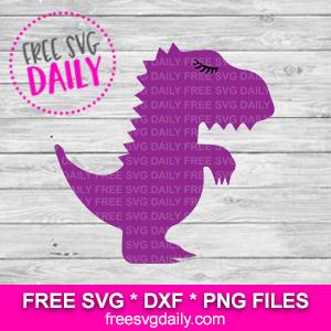 T Rex SVG Free