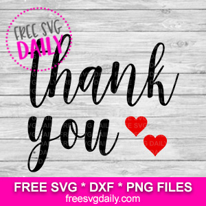 Thank You SVG FREE
