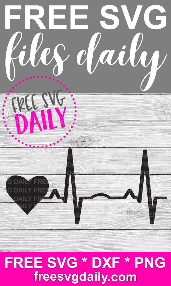 free heartbeat svg