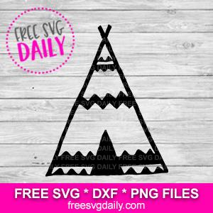 teepee free svg